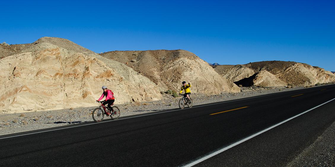 Cyklsiter, Death Valley, USA