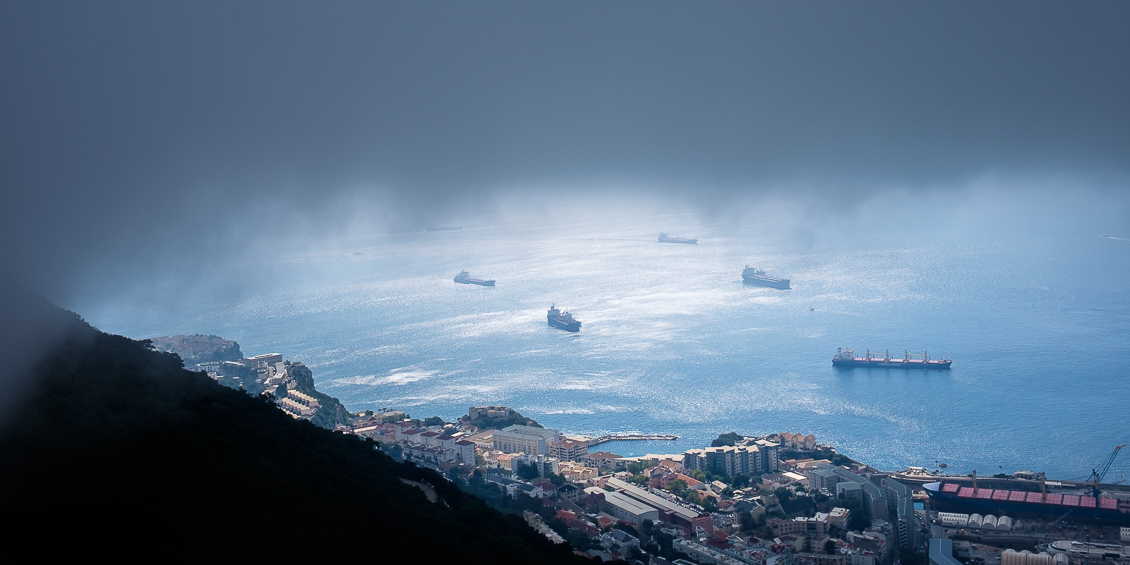 Fartyg på redden, Gibraltar